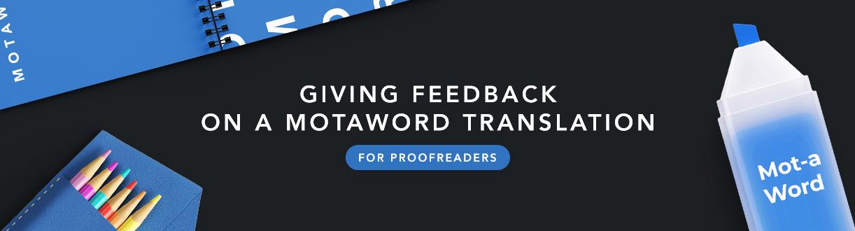 Motaword La Plateforme De Traduction Professionnelle La Plus